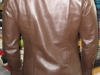 Lined Leather Shirt - Back