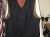Custom Vest, Slanted Single Breast
