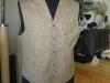 Custom Vest, Single Top Stitching