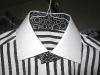 Custom Shirt with Contrasting Fabrics