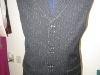 Custom Vest with Heavy Pick Hand Stitching